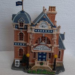 Lemax village police station